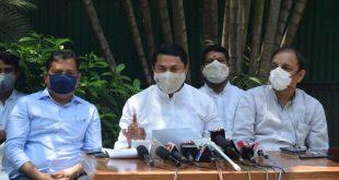 ऑक्सीजन, रेमडेसिवीर अभावी जीव जात असतानाही भाजपाचे राजकारण